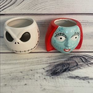 New Disney Nightmare Before Christmas Mini Mug Set